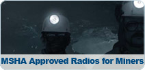 Lauttamus has the ONLY MSHA approved Radios!