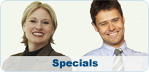 Looking for a great deal?  Click here for our Specials.