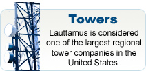 Lauttamus Communications is a leader in tower design, construction, installation, service, and maintenance.