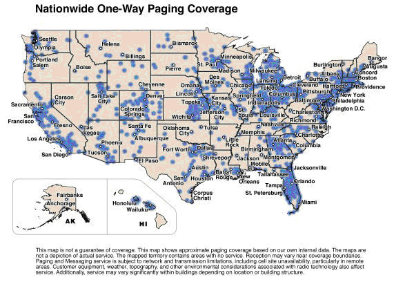 Paging Coverage Map From Lauttamus Communications Amp Security